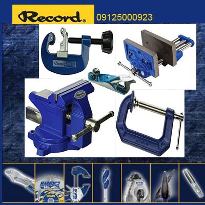 نمایندگی فروش RECORD IRWIN - گیره رومیزی-انواع گیره های نجاری و پیش دستی سازنده رکورد آروین - 09125000923