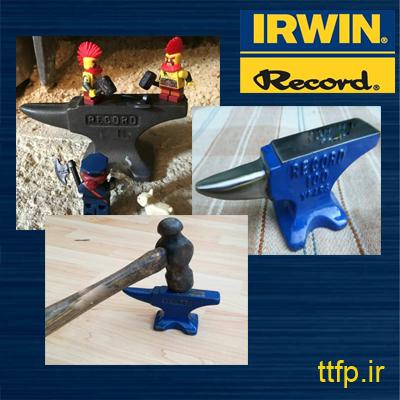 RECORD IRWINنمایندگی فروش- سندان آهنگری رکورد آروین - 09125000923