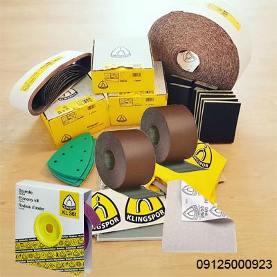 نمایندگی فروش KLINGSPOR - انواع سنباده کلینگ اسپور - 09125000923